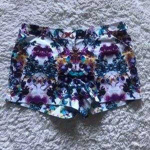 Nicole by Nicole Miller Floral Shorts Size 6